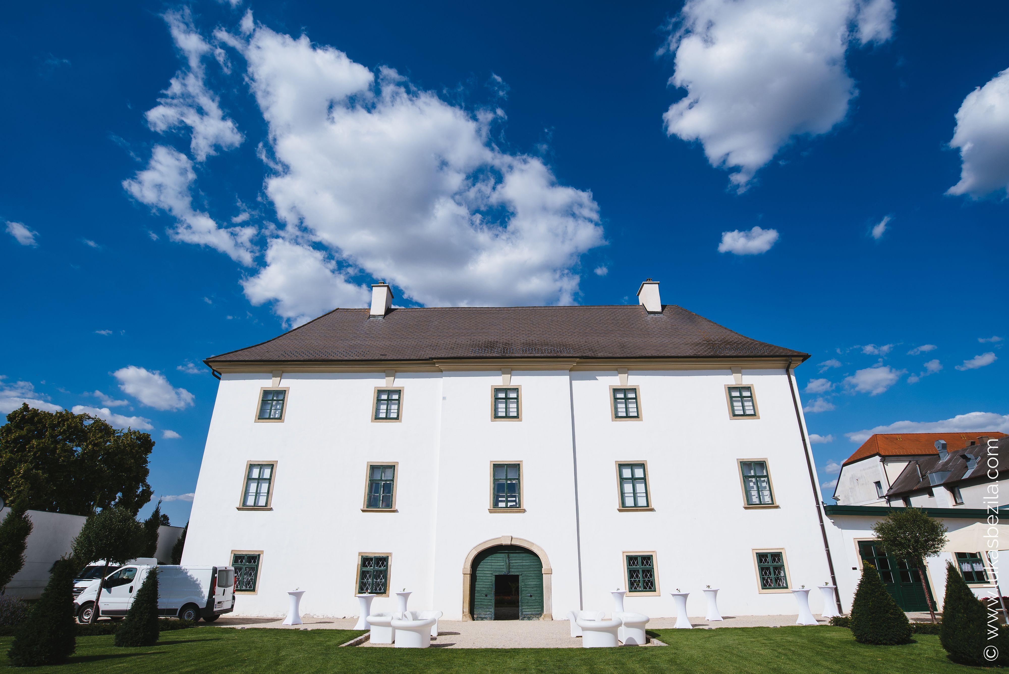 Schloss Raggendorf Gartenansicht