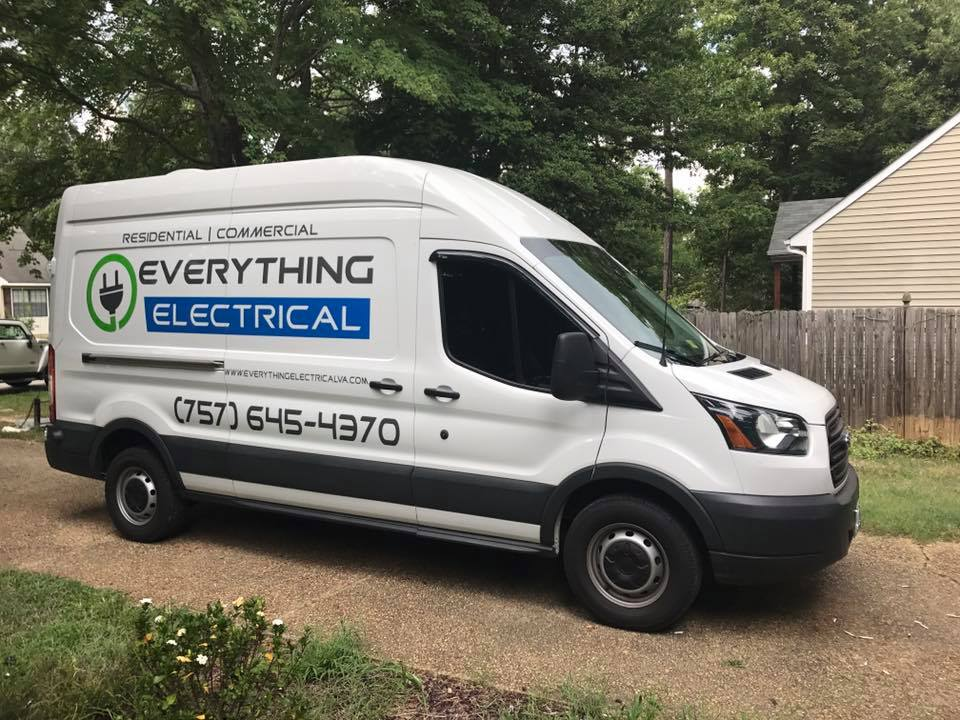 Everything Electrical Van