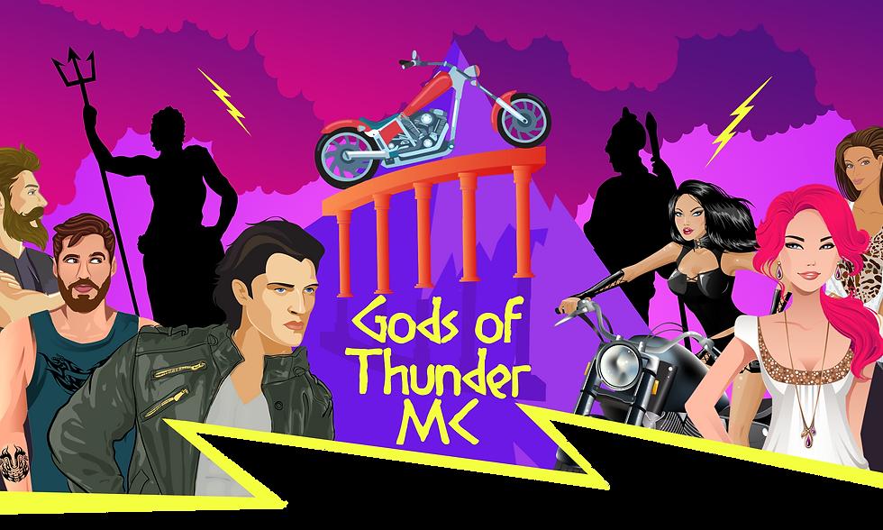 Greek Gods Website Banner Transparent Up