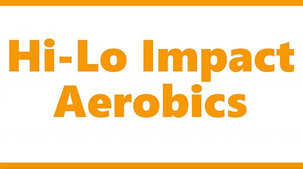 MIST Fitness Hi-Lo Impact Aerobics