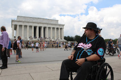 Fighting for his right to wheelchair