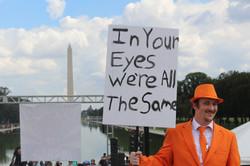 In your eyes we all wear orange suit