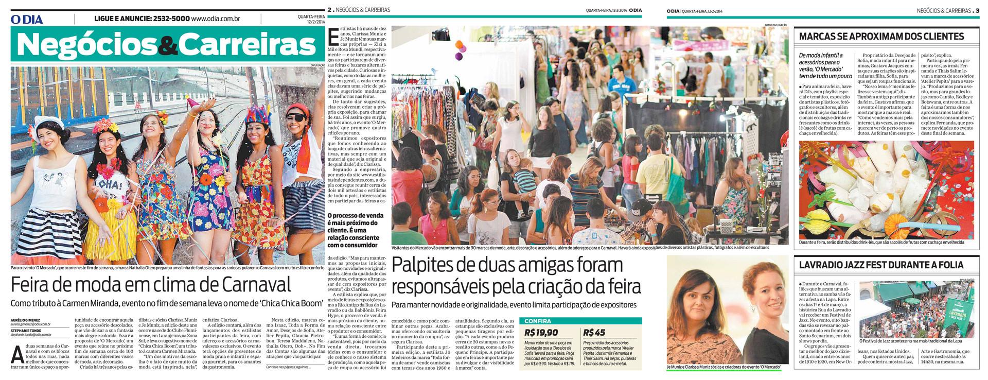 1202 - Jornal O Dia - Negocios e Carreir