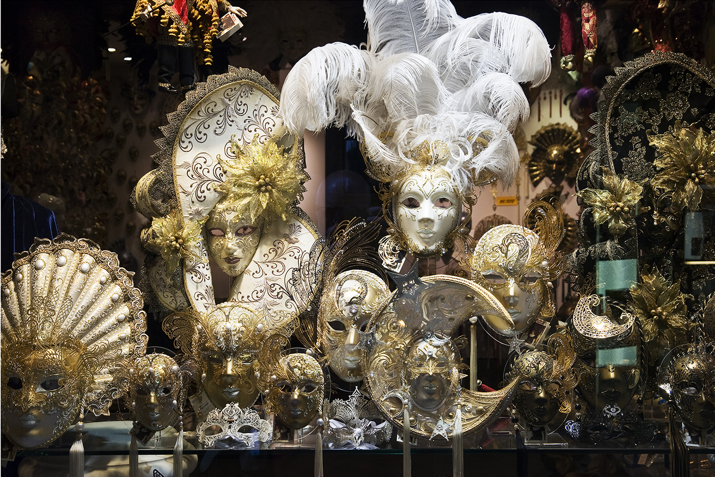 Venetian Shop Window