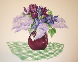 Lilacs and Irises