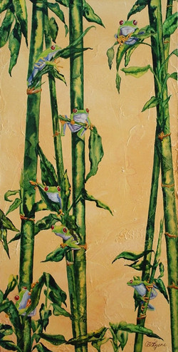 Bamboo and Garnet Eyes