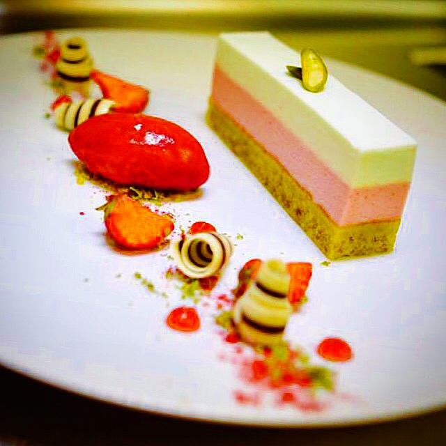 Strawberry & lime delice