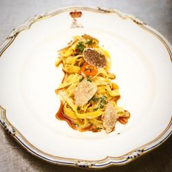White truffle pasta