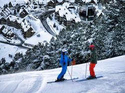Esquiador Pista 2