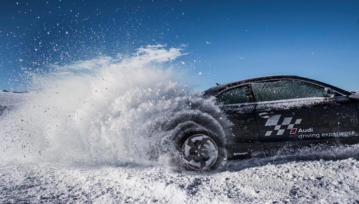 Audi Snow Driving