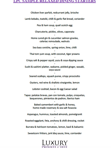 Relaxed Dining Menu Starters Sample LPC.png
