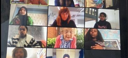 Zoom Call - Adopt a Grandparent