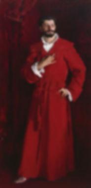 Portrait of Samuel Pozzi by John Singer Sargent