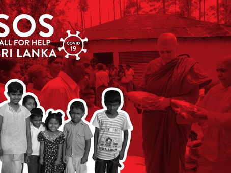 SOS výzva o pomoc - Srí Lanka