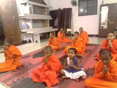 Poděkování všem dárcům od ctihodné bhikkhunī Vijitanandy