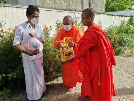 Help from Sakyadhita bhikkhunī ārāma
