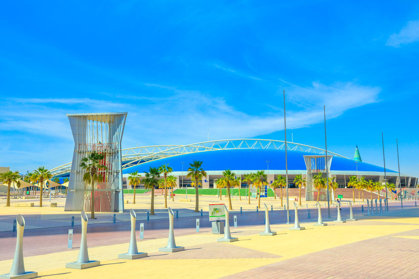 Sporting academy for youth, located in the center of Aspire Zone in Doha Sports City.