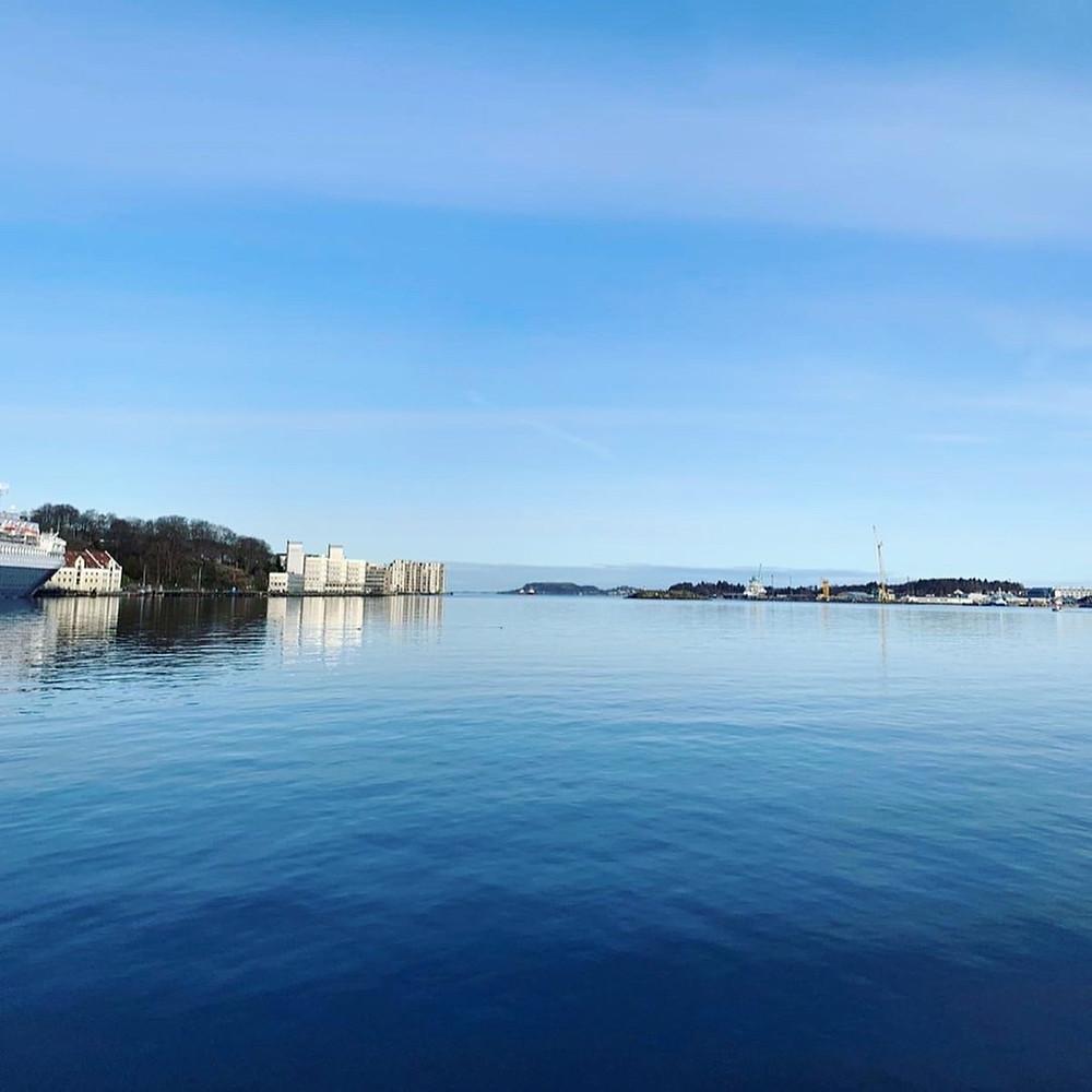 The Sea View of Stavanger, Norway