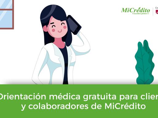 Consultas médicas gratuitas para clientes y colaboradores