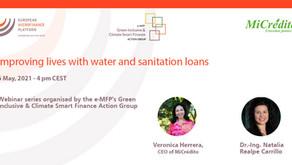 WEBINAR: IMPROVING LIVES WITH WATER AND SANITATION LOANS, 6 MAY
