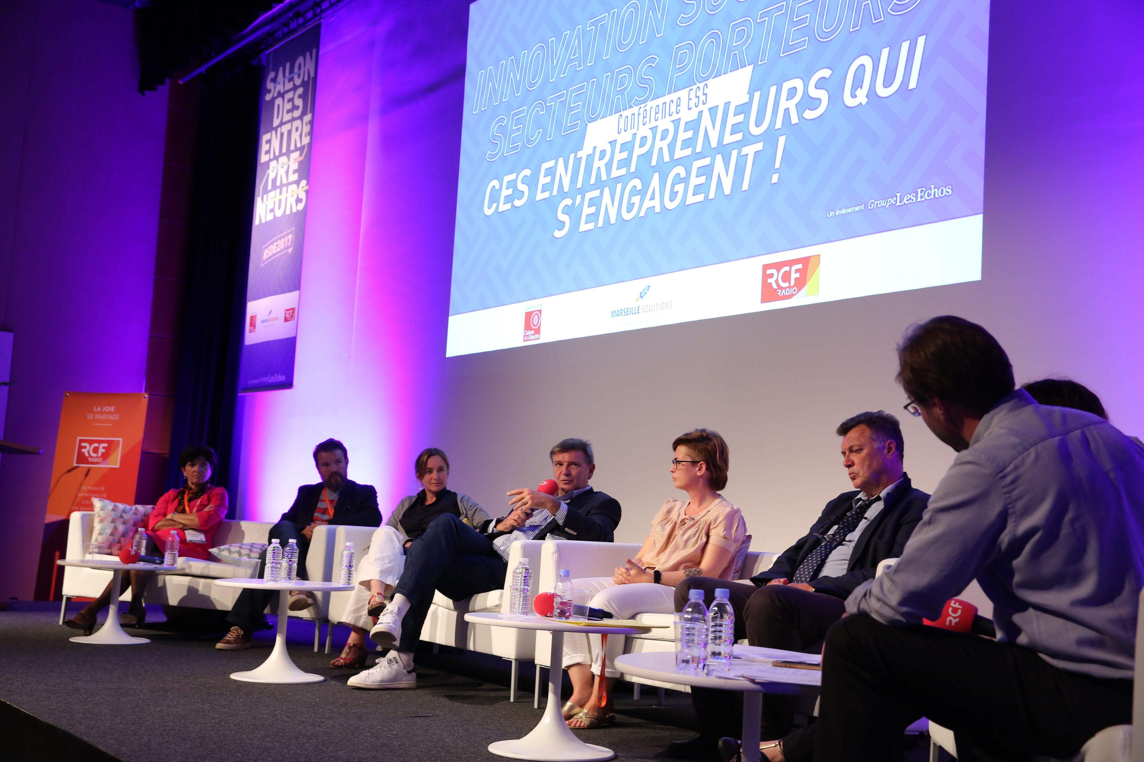 Conférence Innovation Sociale au SDE