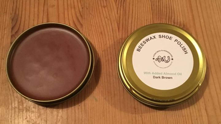 Dark Brown Shoe Polish