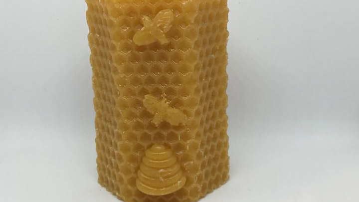 Small Pillar With Bees