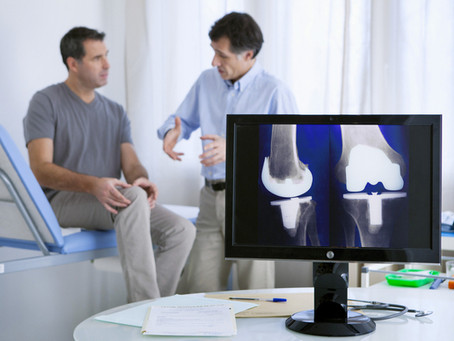 La protesi al ginocchio: intervento e riabilitazione.