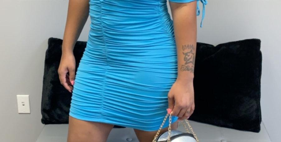 Ruffled In Blue