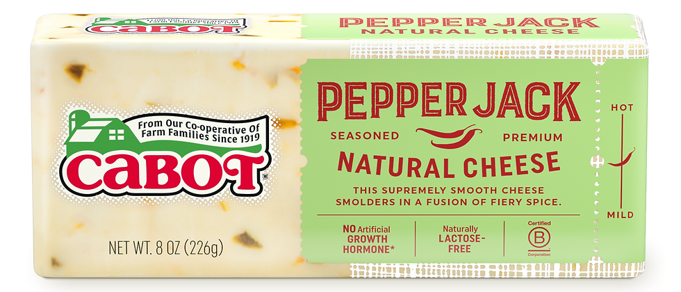 8oz. Pepper Jack Cheese | Cabot Creamery