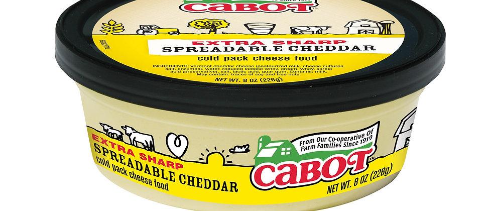 Extra Sharp Spreadable Cheddar | Cabot Creamery