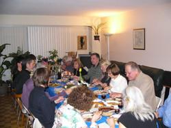 Enjoying the Seder Meal