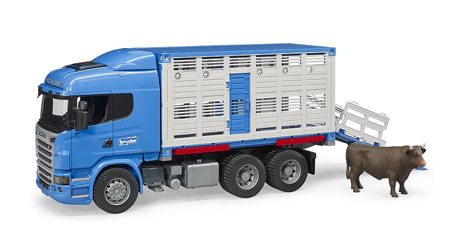 Camion trasporto animali bruder