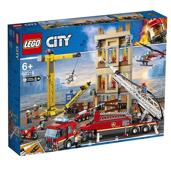 City Missione antincendio in città