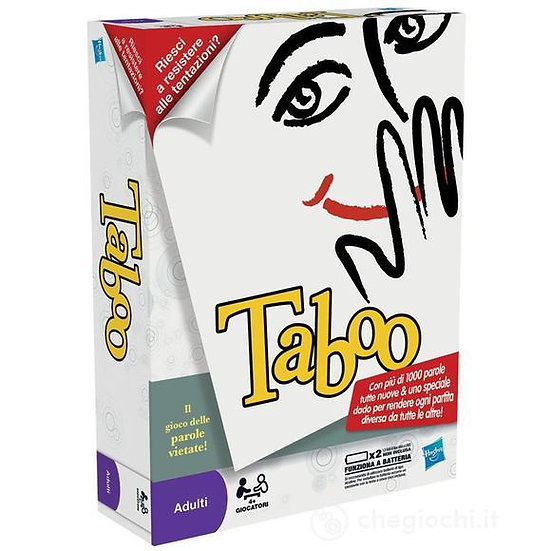 taboo gioco per adulti