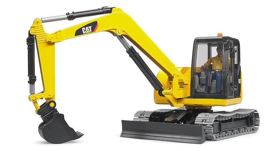 mini escavatore giocattolo