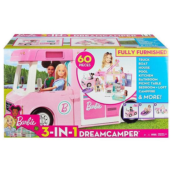 il camper di barbie