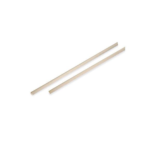 Manico legno per rastrello o scopa cm 150