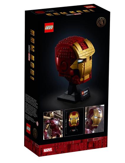 casco di iron man
