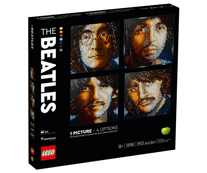lego Art The Beatles