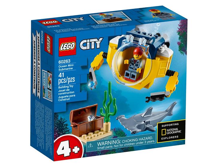 city minisottomarino lego