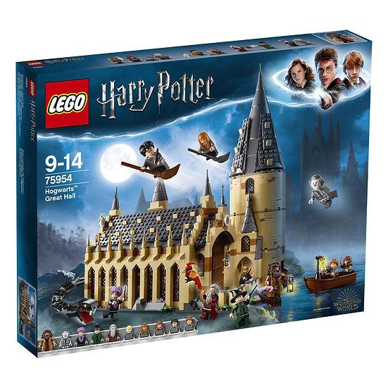 harry potter  sala grande di hogwarts