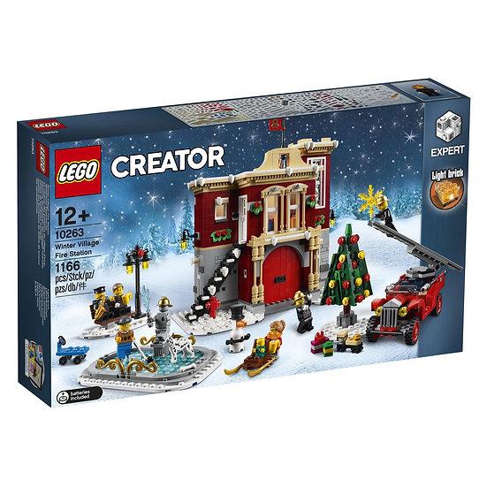 Creator Expert Caserma dei pompieri del villaggio invernale