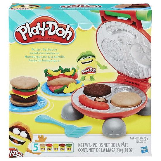 Play Doh Burger Barbecue Set