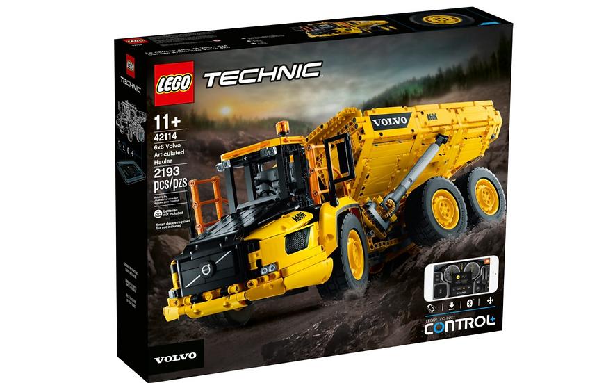 camion volvo lego