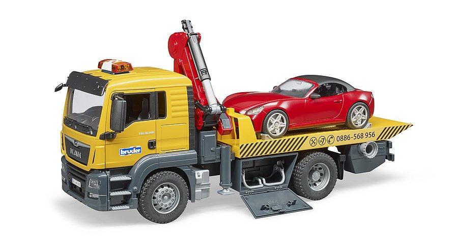 Camion di soccorso stradale MAN TGS con roadster