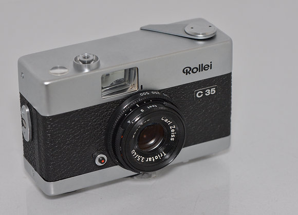 Rollei C35 - Silver/Black Condition: Mint