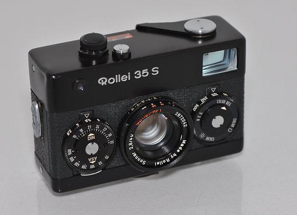 Rollei 35S - Black - Condition: Exc+++