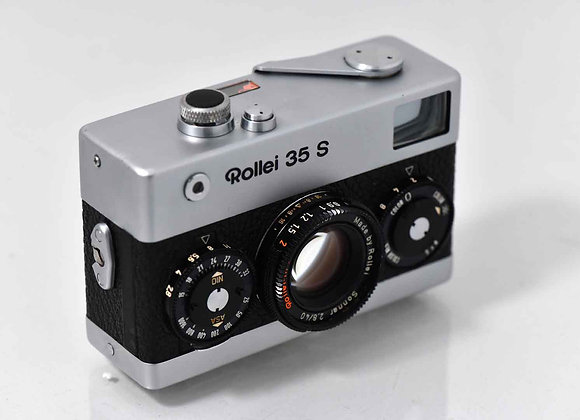 Rollei 35 S - Silver/Black - Condition: Exc+++