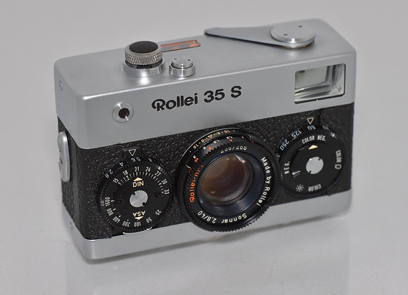 Rollei 35 S - Silver/Black - Condition: EXC+++/Mint-
